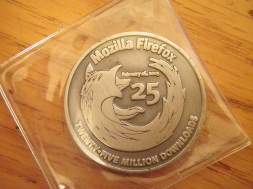 Mozilla Firefox 25 Million Downloads